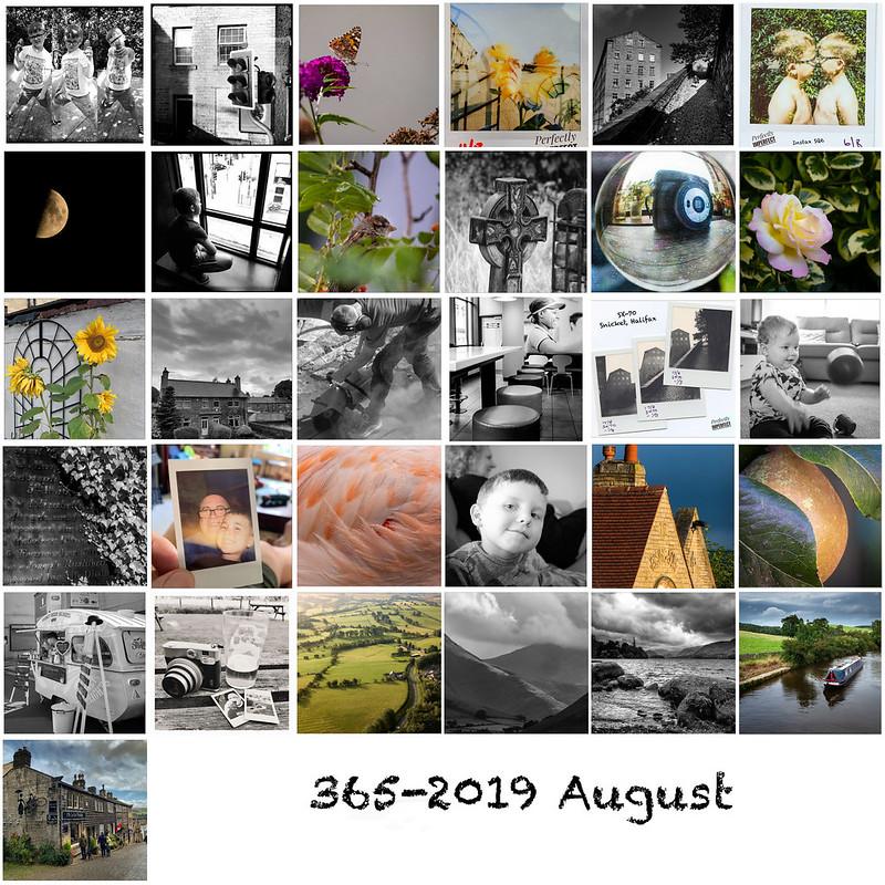 365 August 2019 mosaic