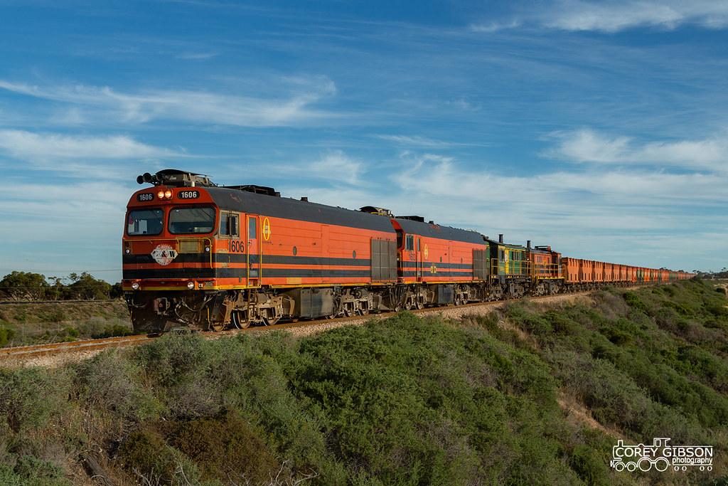 Eyre Peninsula Railway by Corey Gibson