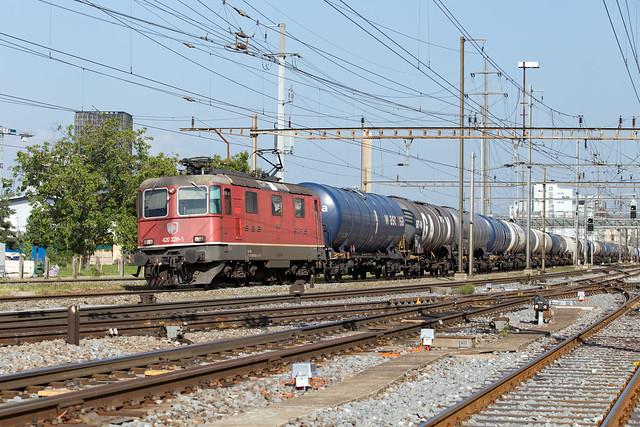 SBB Re 4/4 420 326 Pratteln