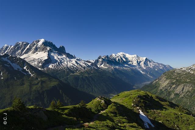 Mont-Blanc range !