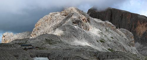 Rifugio Pedrotti alla Rosetta (Dolomites, Italy)