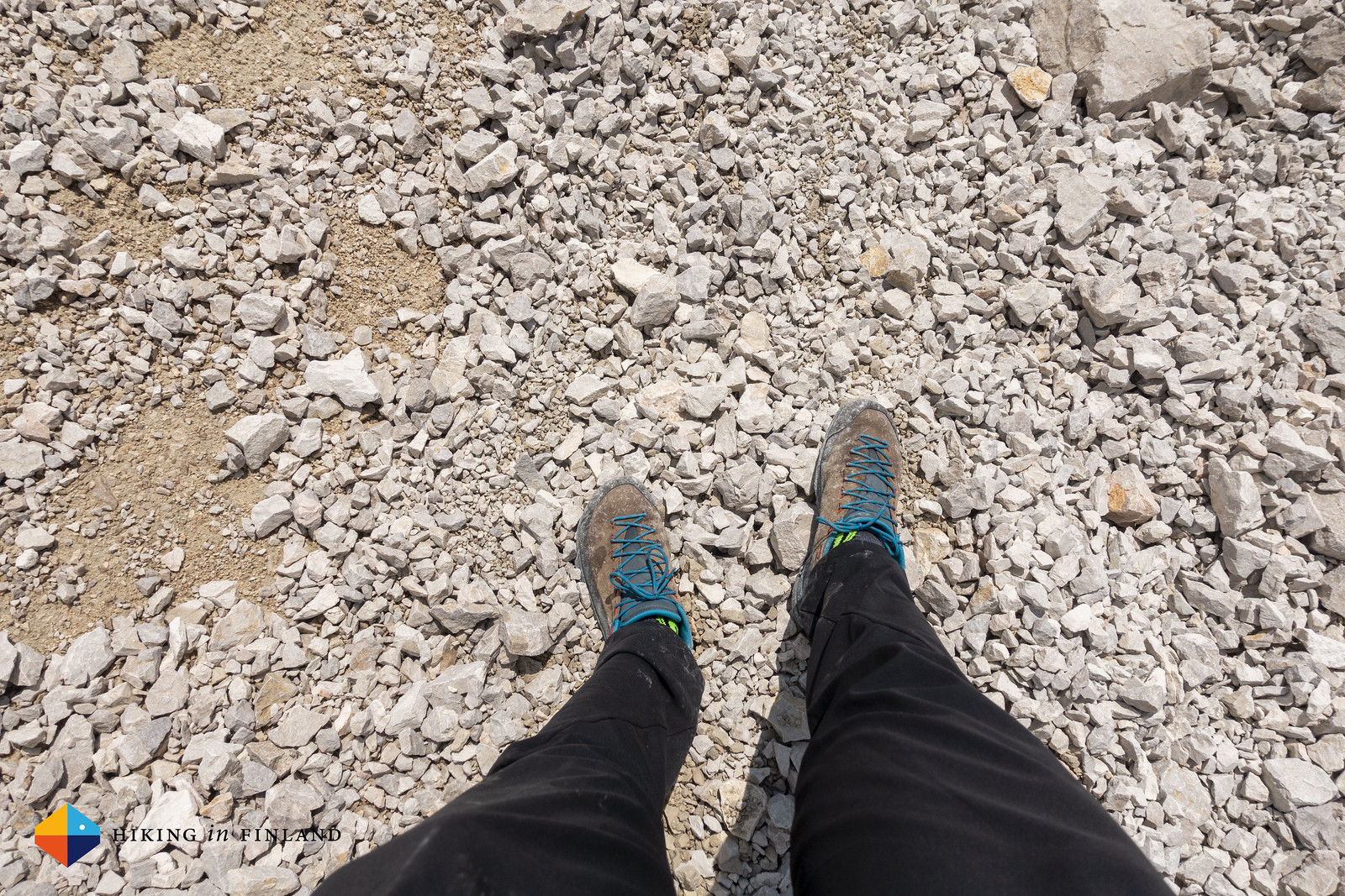 La Sportiva TX2 on gravel