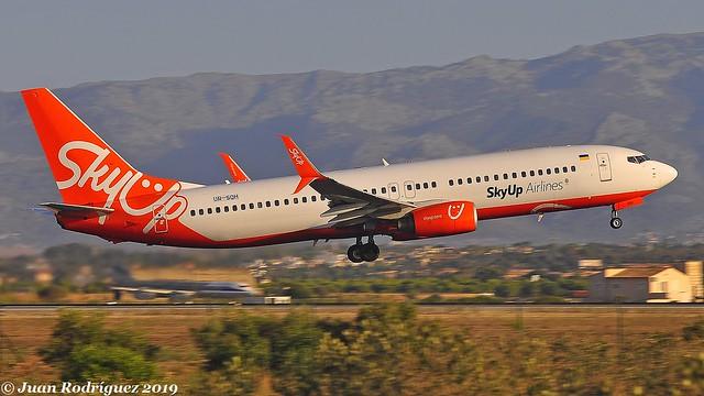 UR-SQH - SkyUp Airlines - Boeing 737-86Q(WL) - PMI/LEPA