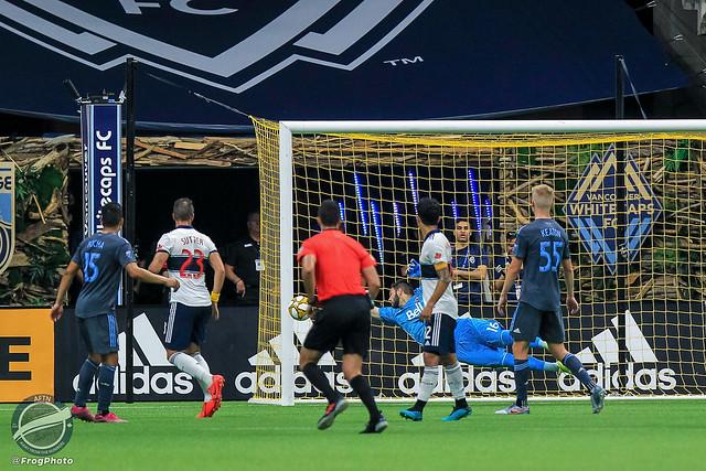 2019 MLS: Vancouver Whitecaps v New York City FC (31/08/2019)