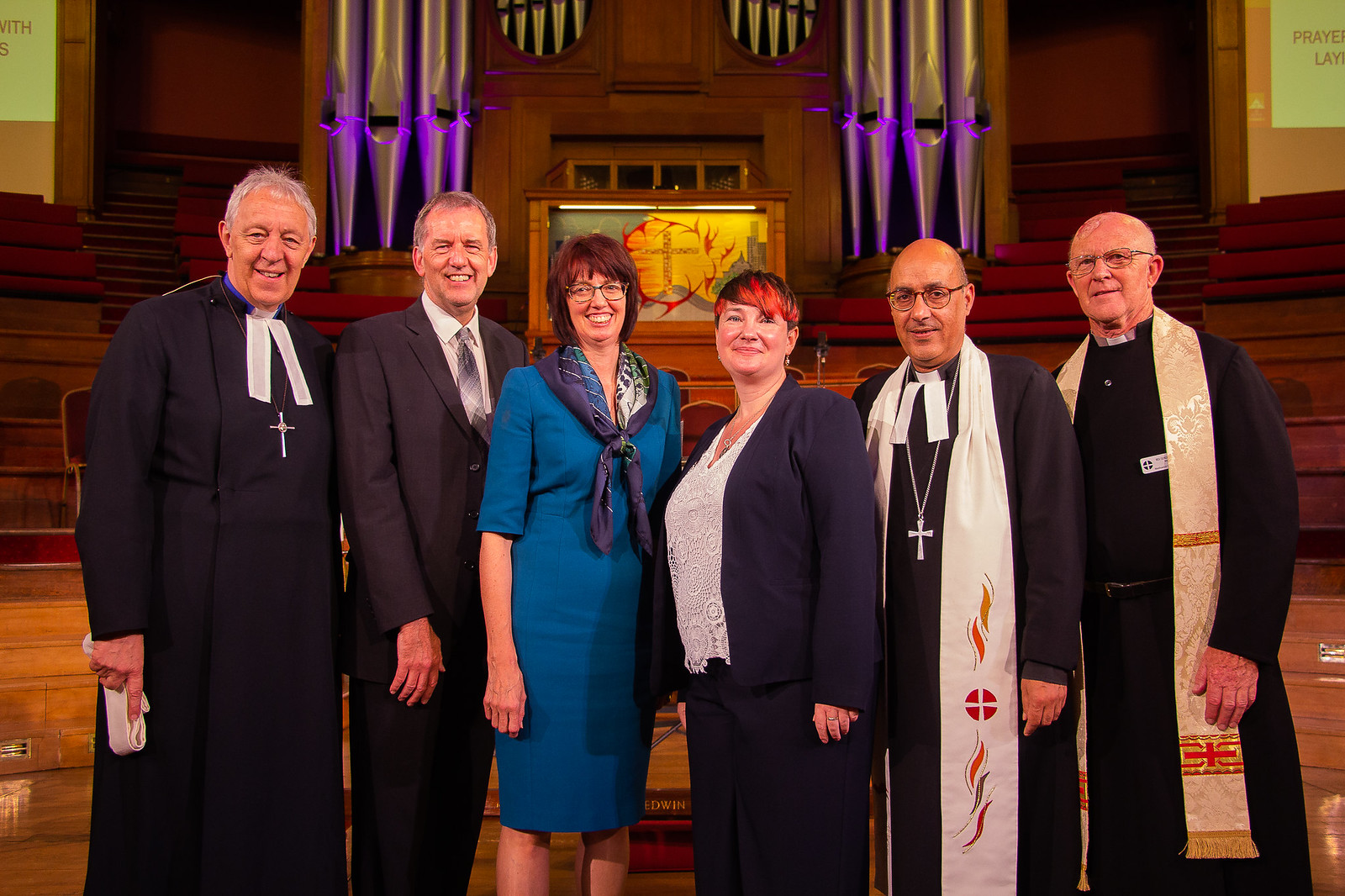 Visit of the Vice President of Conference & Welcome to Deacon Ali and Alison Bryan