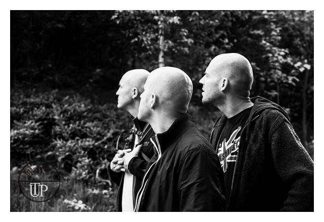 Three man, a common hairdresser