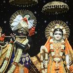 Hare Krishna Temple Ahmedabad Deity Darshan 02 Sep 2019