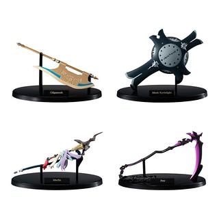 精巧再現從者們的武器!Miniature Prop Collection《Fate/Grand Order》 -絕對魔獸戰線巴比倫尼亞- Vol.1 食玩