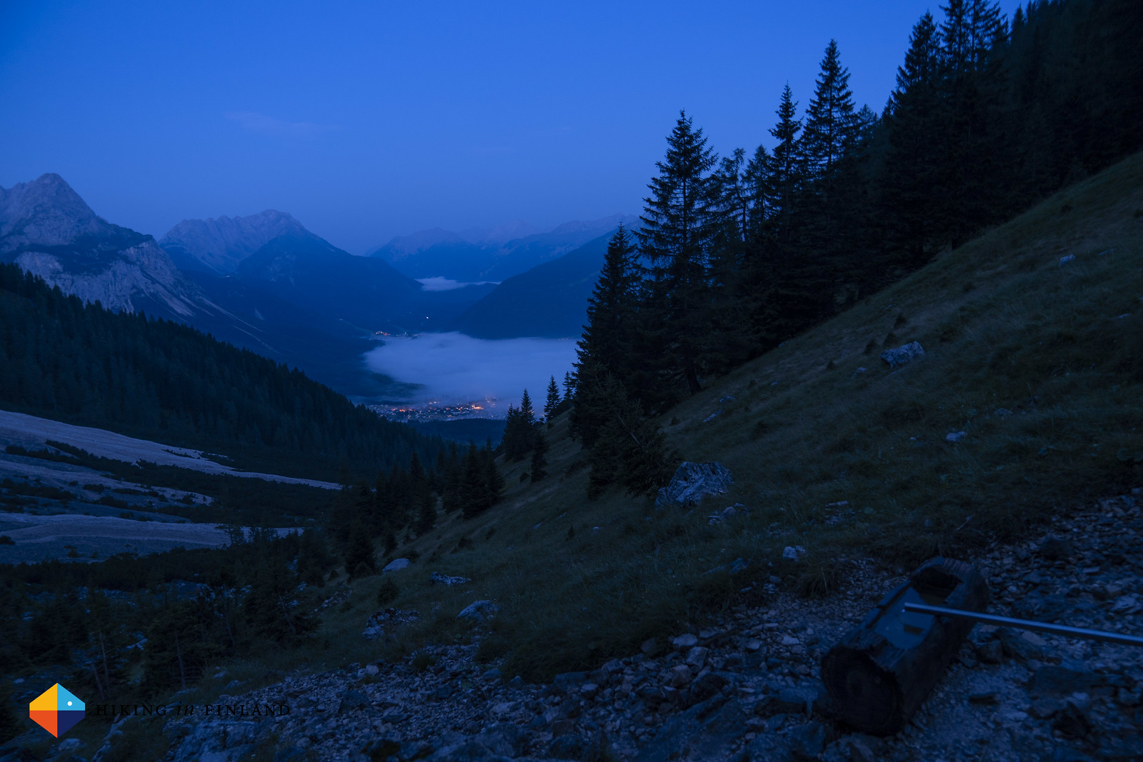 Dawn over Ehrwald