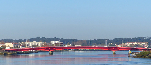 Bayonne, Pyrénées-Atlantiques: le dernier né des ponts de Bayonne, le pont Granet ou