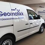 Geomatikk - två av ytterligare 40 bilar