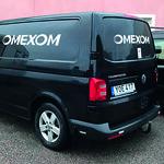 Omexom - två av ett 20-tal Transporters