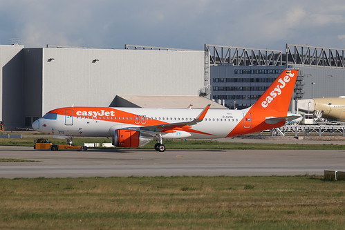 A320neo easyJet G-UZLJ | by XFW-Spotter