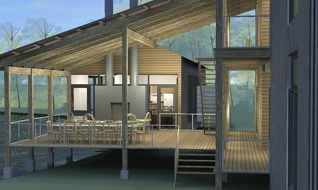 Modular housing in composites 01