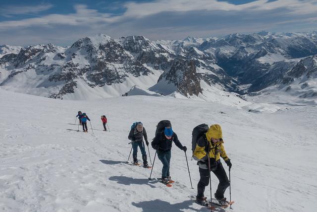 Sneeuwschoentocht Grand Tour du Thabor