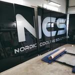 NCS - fasadskylt