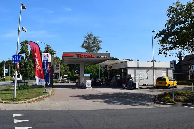 Total tankstation Groesbeek