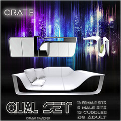 crate's Qual Lounge Set for TLC