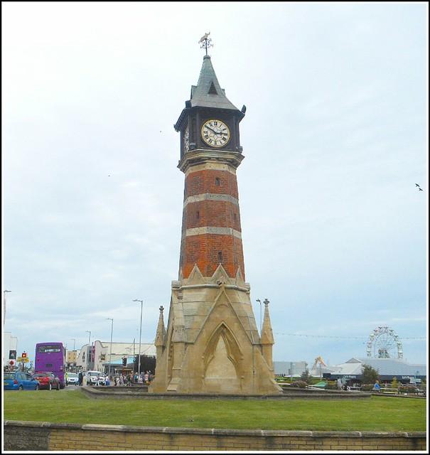 Skegness Clock Tower ..