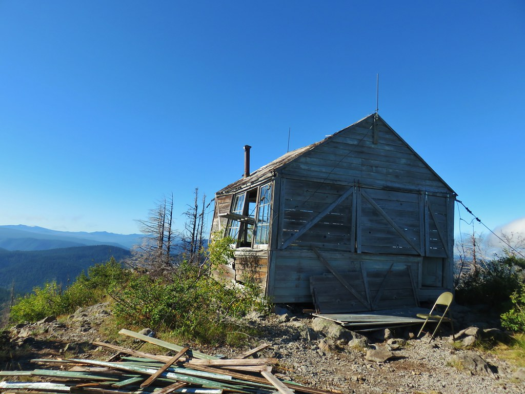 Olallie Mountain lookout