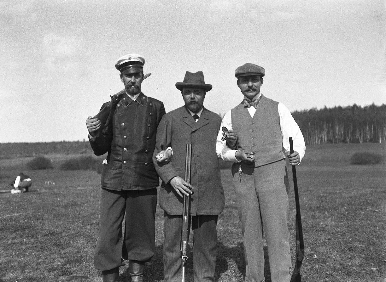 1899. 9 мая. Стрельбы. Победители на приз «Открытие»