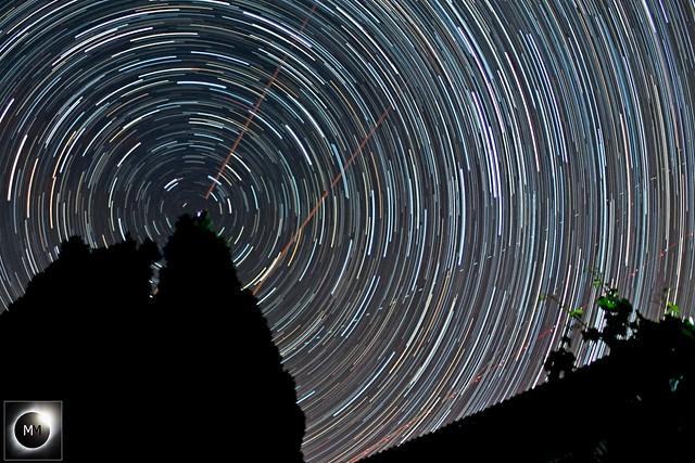 1 Hour 20 Minute Circumpolar Star Trails 01/09/19
