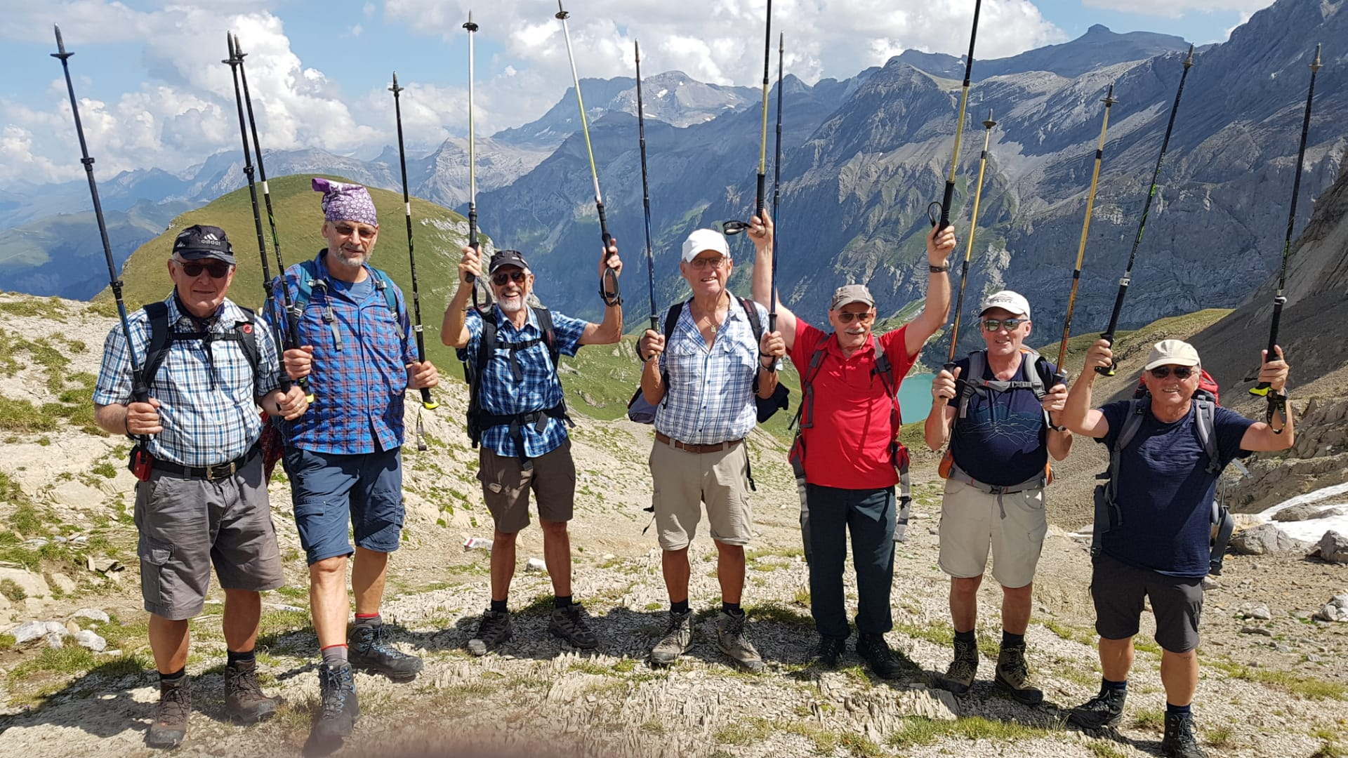2019-08-30 Röstigraben 21. Etappe Lauenensee - Iffigenalp