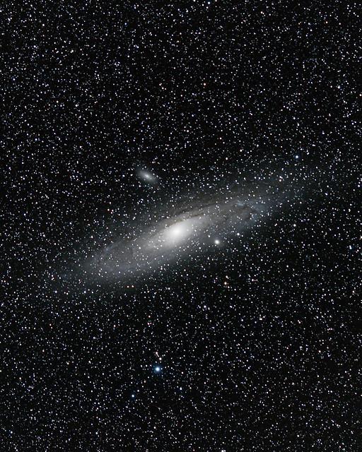 M 31, Andromeda taken by standard camera