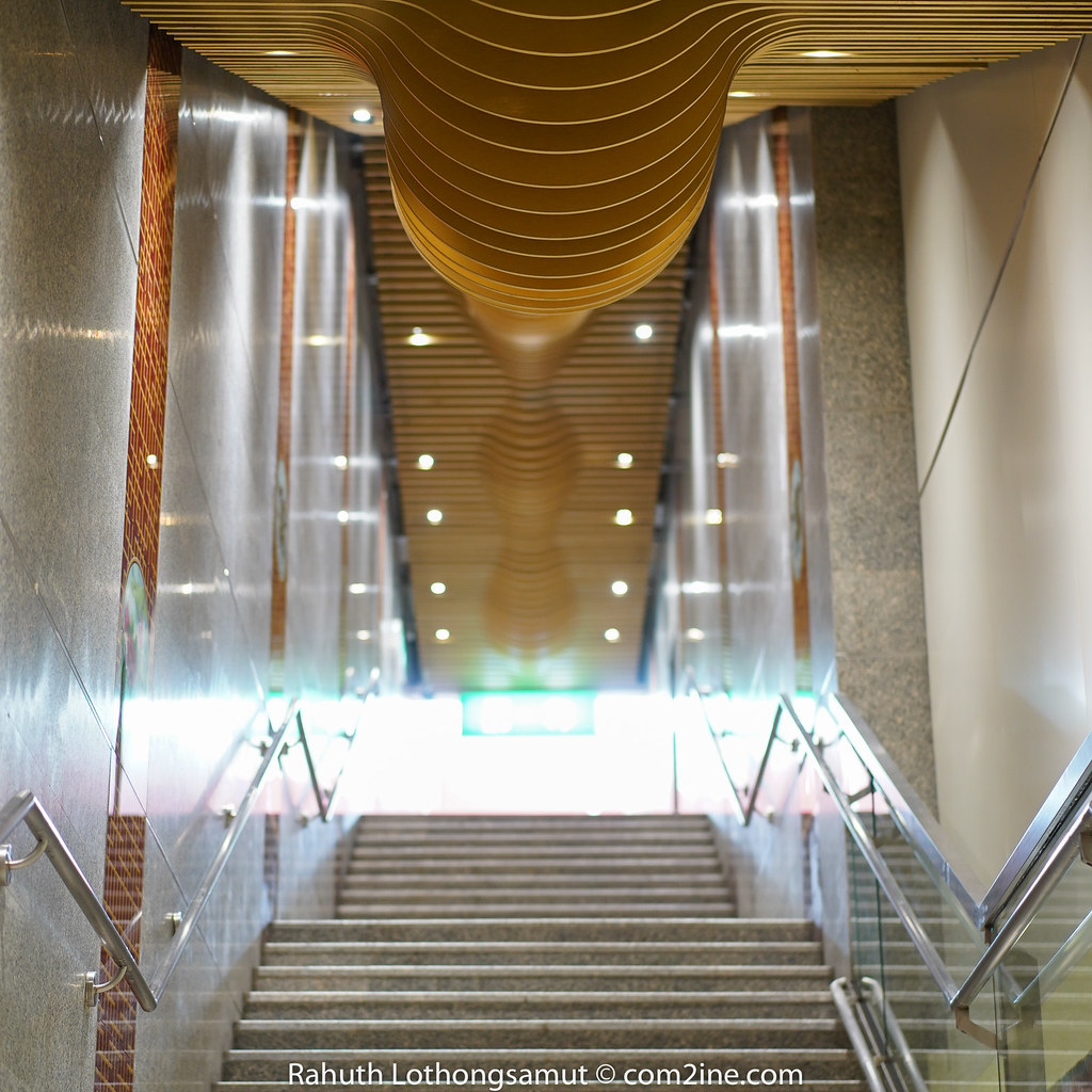 Stair MRT Wat Mangkon - สถานีวัดมังกร