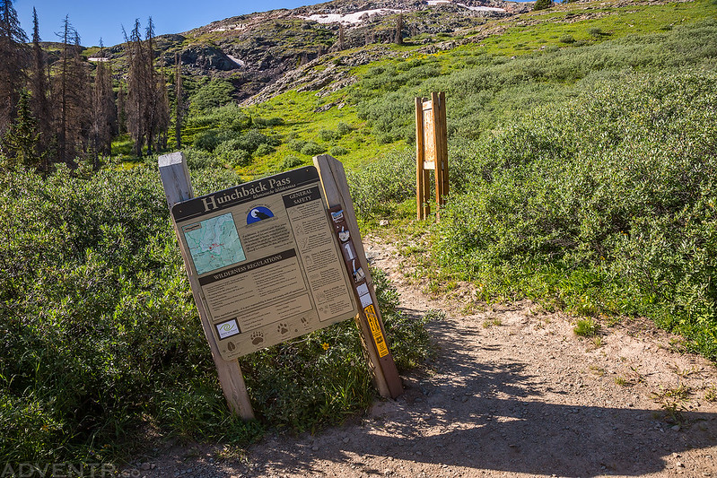 Hunchback Pass Trailhead