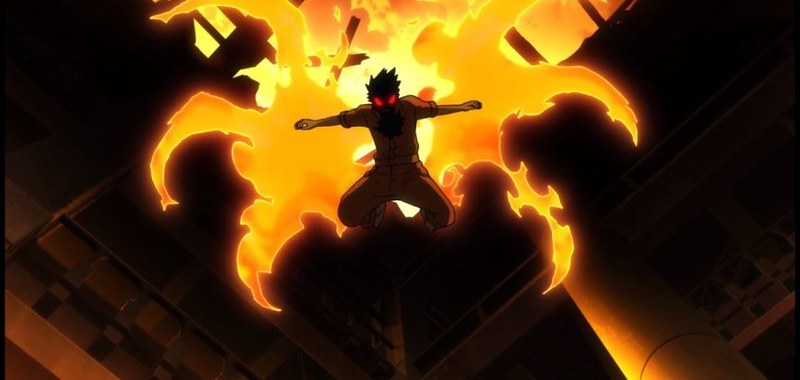 fire force episode 8 infernal insects shinra