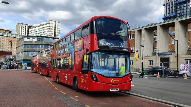 Go Ahead London WHV56 - Route 197