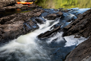Scouting the Whitewater