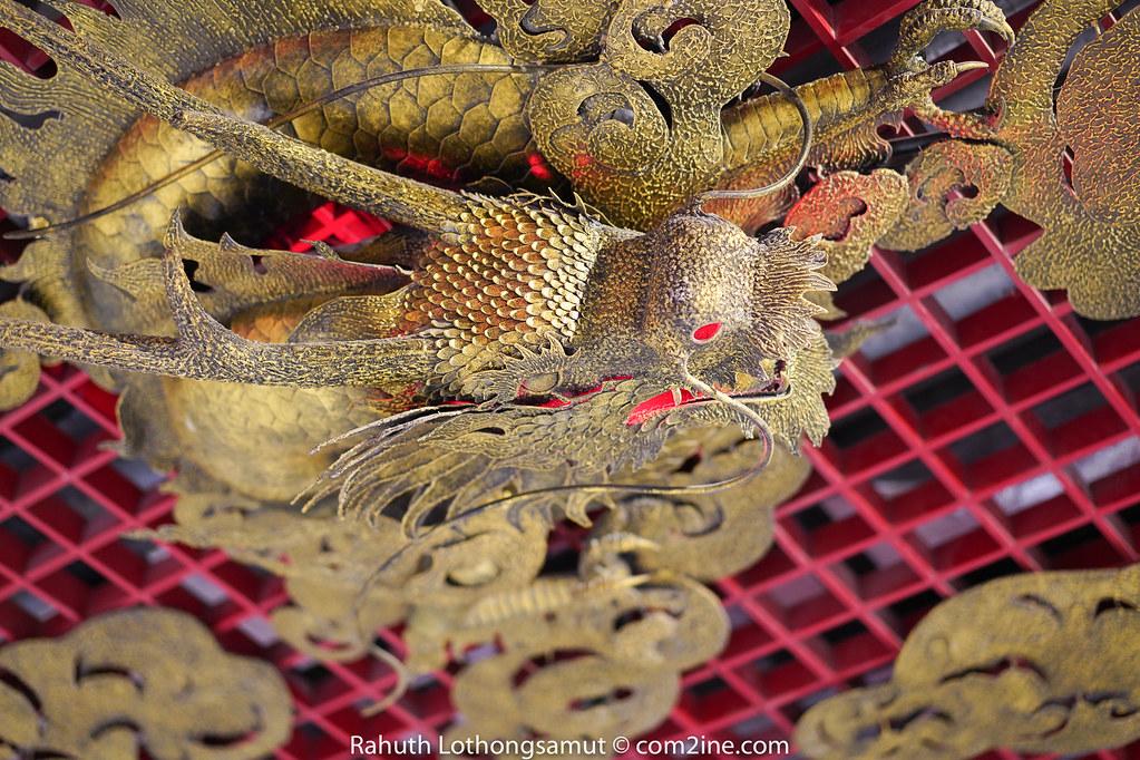 มังกรบนเพดาน MRT Wat Mangkon - สถานีวัดมังกร