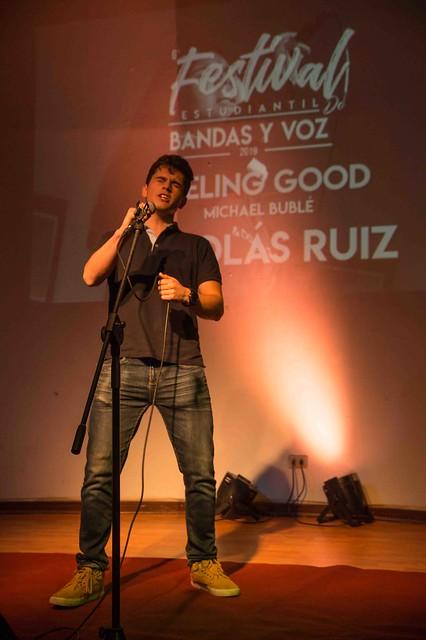 Preselección Festival estudiantil de bandas y voz 2019
