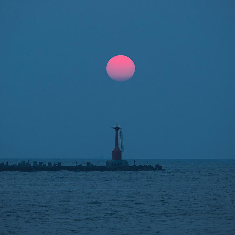 西子灣夕陽|高雄