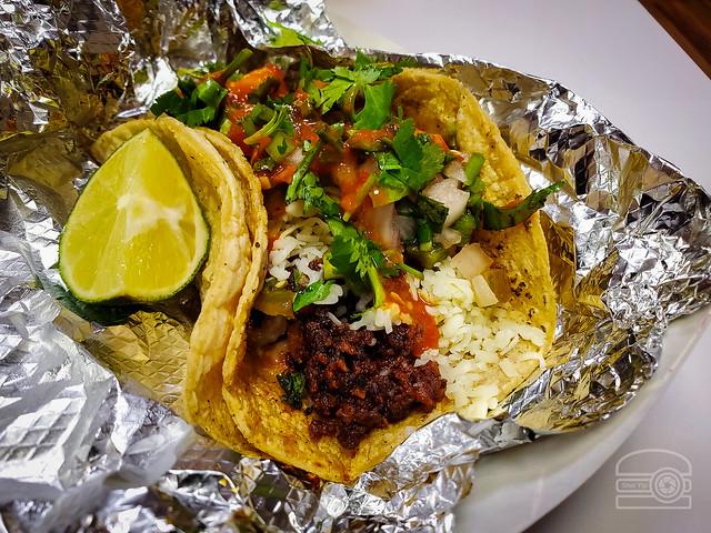 Chorizo Taco - La Tapatia