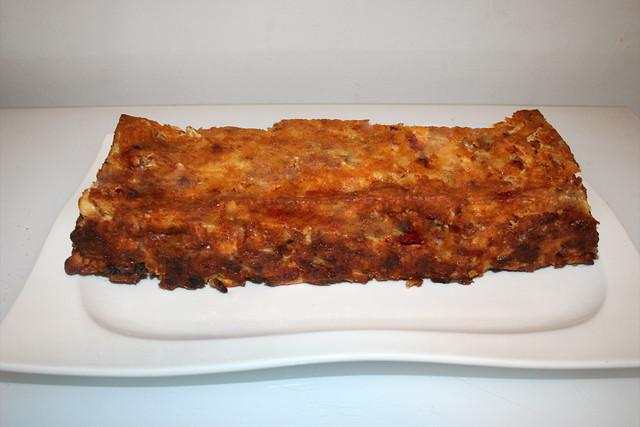 20 - Cheese spaetzle cake - Finished baking / Käsespätzle-Kuchen - Fertig gebacken