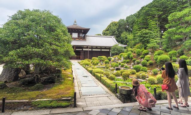Tōfuku-ji temple and garden.. Kyoto..See Album Japan