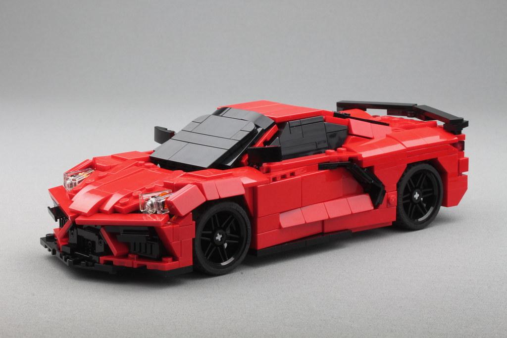 C8 Corvette - version 3 - top