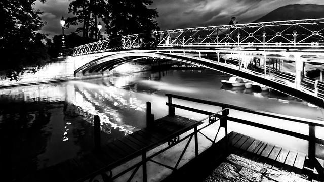 Nuit au Pont des Amours