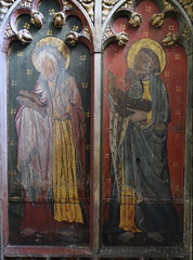 roodscreen: St Simon and St Jude (15th Century)