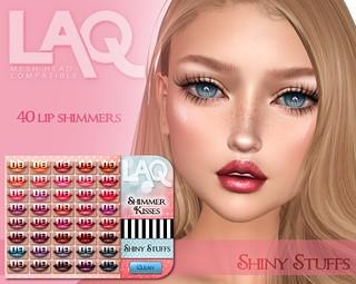 New! Shimmer Kisses for LAQ!