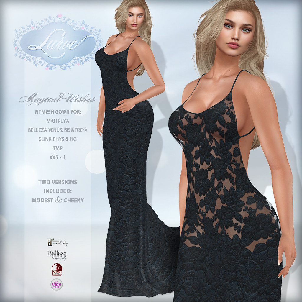 *Lurve* Magical Wishes Formal in Midnight