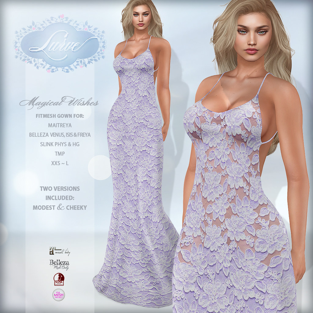 *Lurve* Magical Wishes Formal in Violet - TeleportHub.com Live!