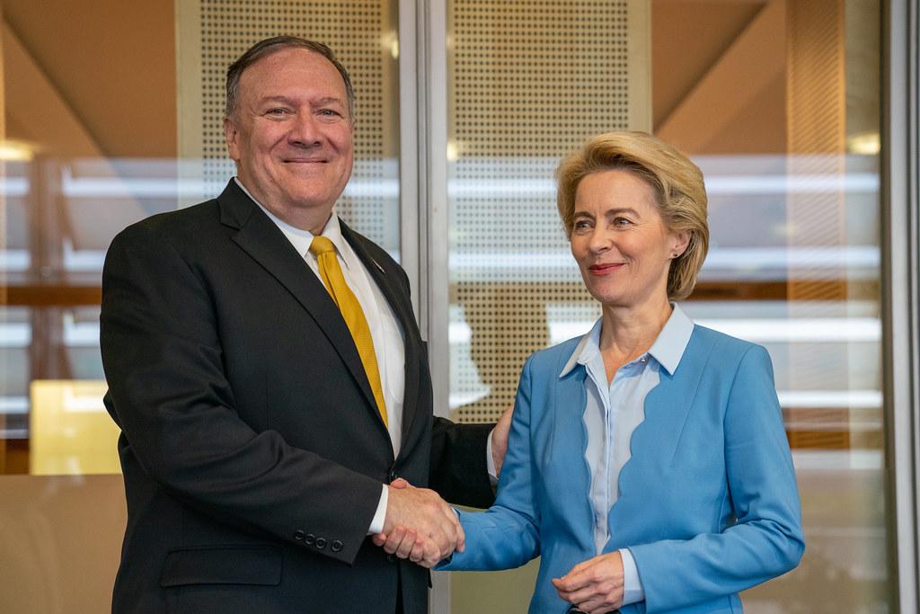 Secretary Pompeo Meets With European Commission President-elect Ursula von der Leyen