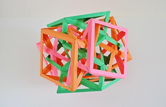 Three Interlocking Irregular Crossed Square Antiprisms (Byriah Loper)
