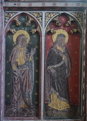 roodscreen: St James the Less and St Philip (15th Century)