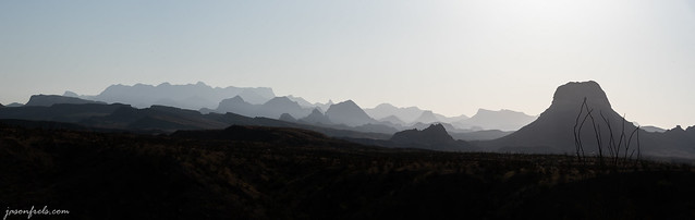 Mountain Panorama at Big Bend