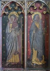 roodscreen: St Thomas and St Bartholomew (15th Century)